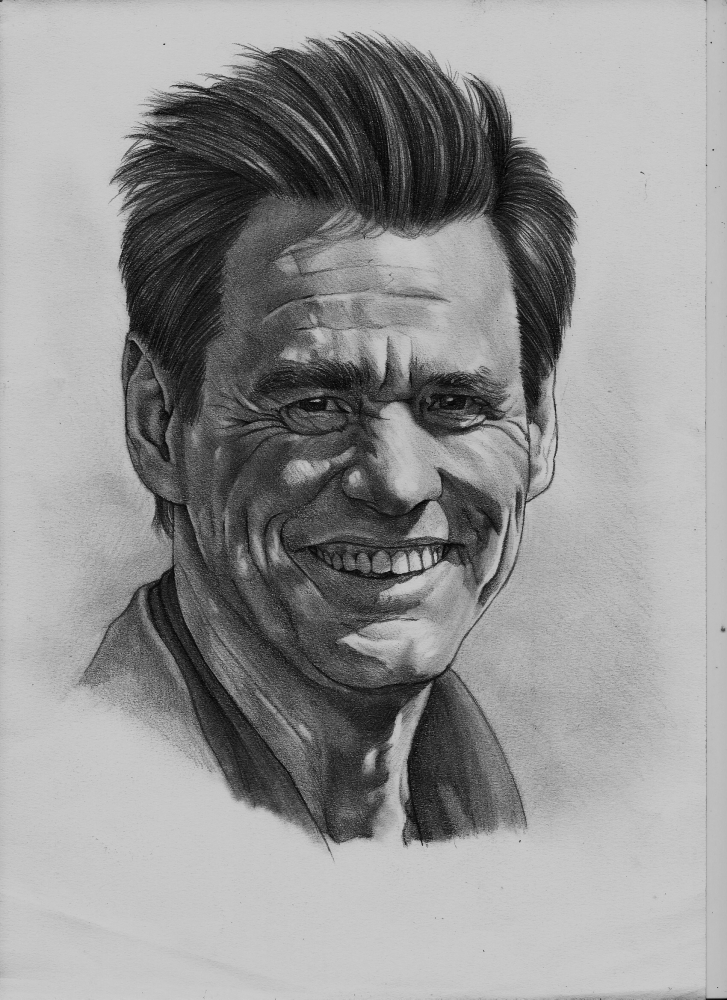 Jim Carrey by Exalion